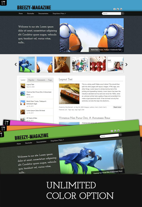 Breezy-Magazine wordpress theme