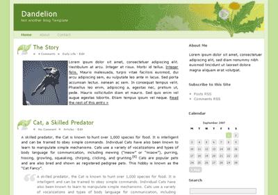 dandelion wordpress theme