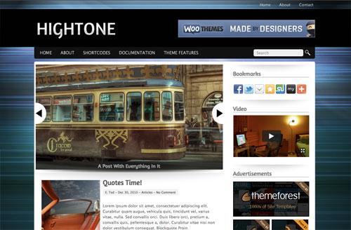 hightone wordpress theme