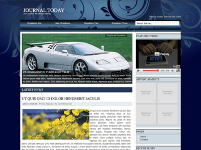 Journal Today WordPress Theme