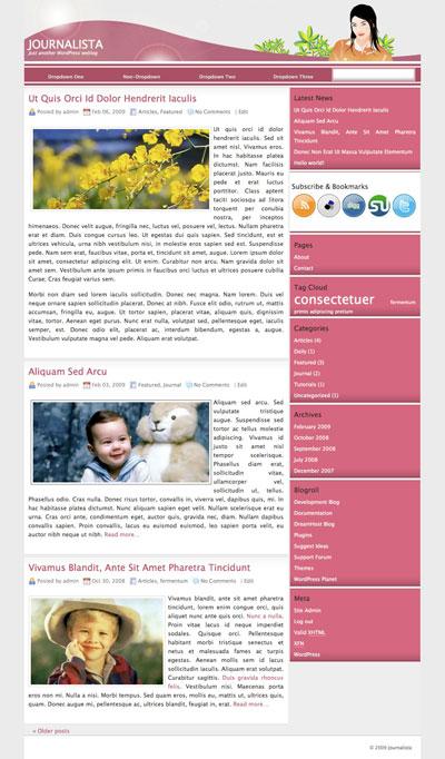 Journalista WordPress Theme