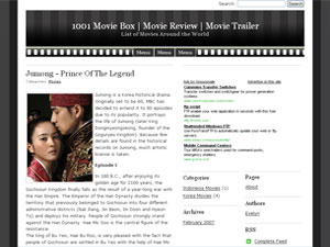 movie times wordpress theme