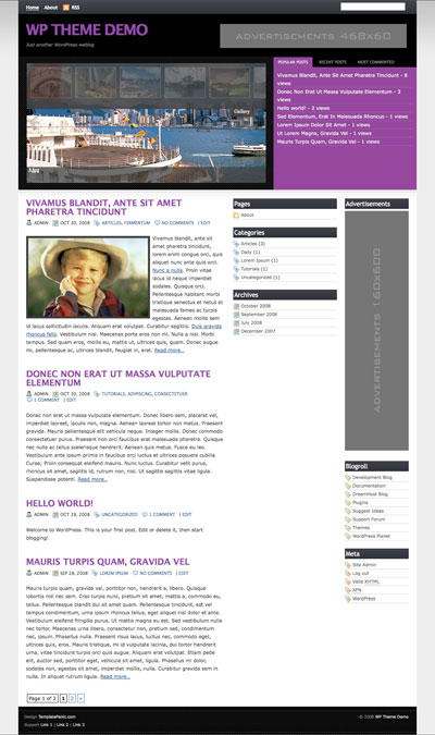 My Magz WordPress Theme