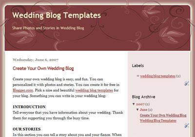 ornament theme blogger template
