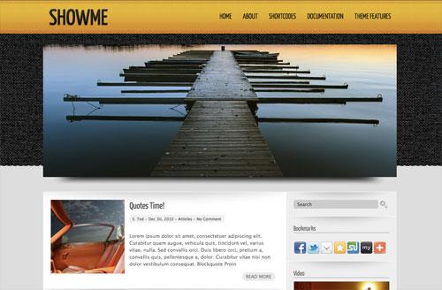 showme wordpress theme