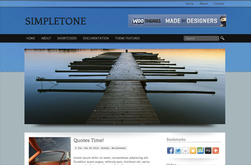 simpletone wordpress theme