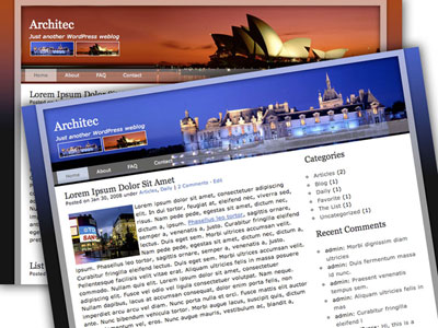 Architec WordPress Theme