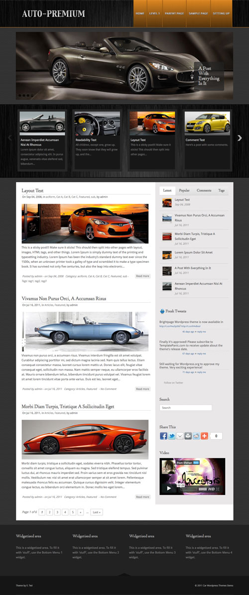 Auto-Premium WordPress Theme