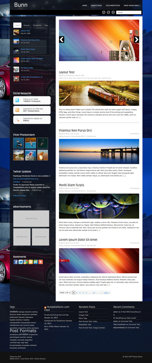 Bunn WordPress Theme