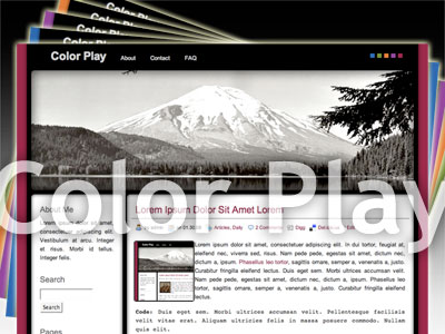 Color Play WordPress Theme