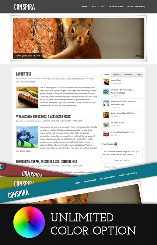 Conspira WordPress Theme