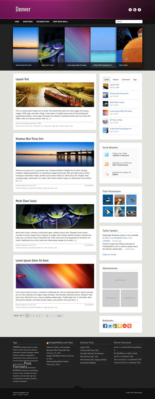Denver WordPress Theme