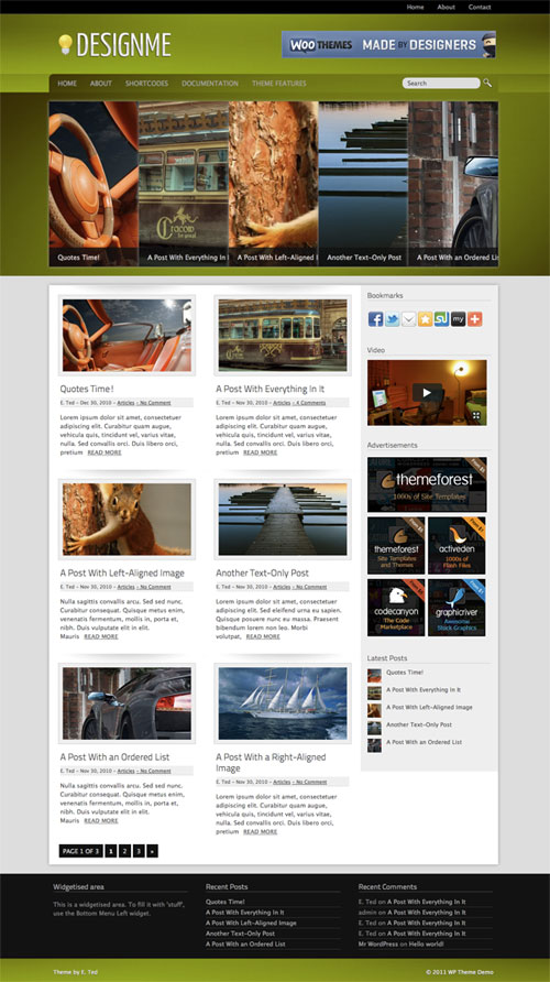 Designme WordPress Theme