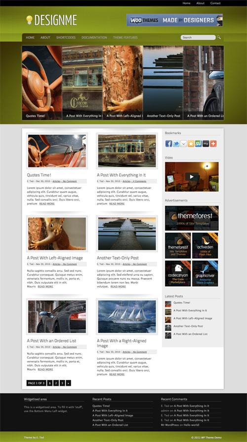 Designme WordPress Theme