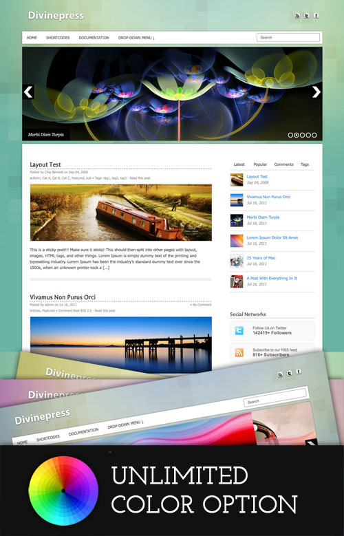 Divinepress WordPress Theme