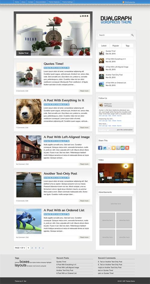 Dualgraph WordPress Theme