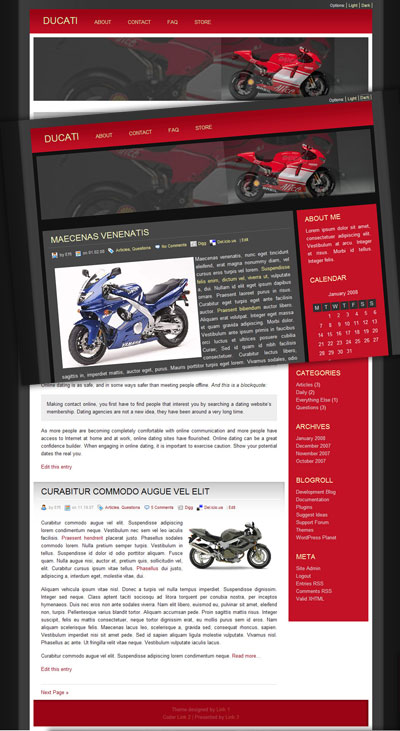 Ducati WordPress Theme