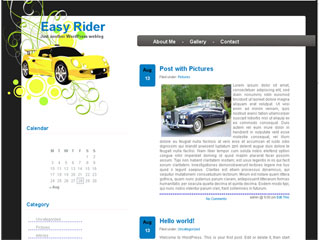 Easy Rider WordPress Theme