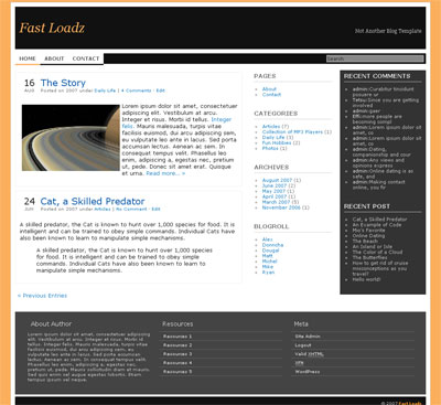 Fast Loadz WordPress Theme