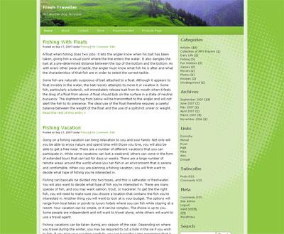 Fresh Traveller WordPress Theme