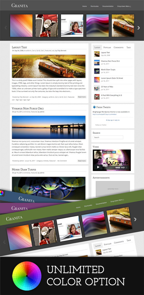 Granita WordPress Theme