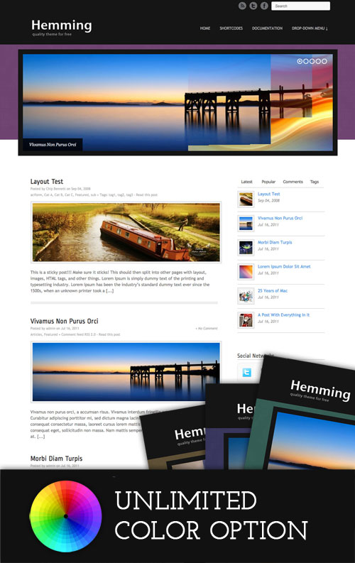 Hemming WordPress Theme