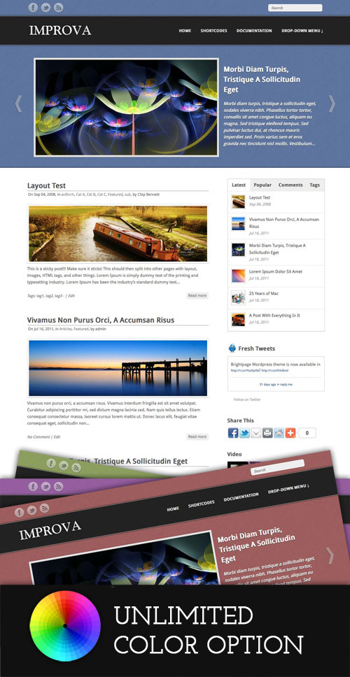Improva WordPress Theme