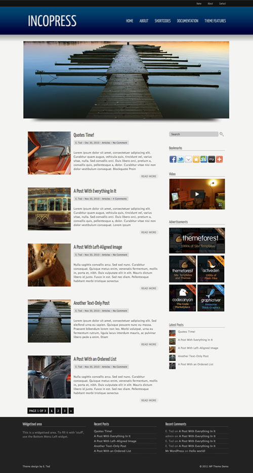 Incopress WordPress Theme