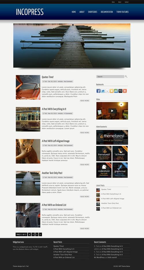 Incopress WordPress Theme