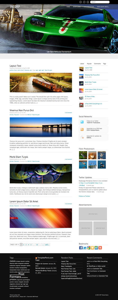 Incorp WordPress Theme