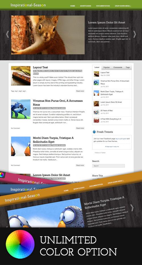 Inspirational-Season WordPress Theme