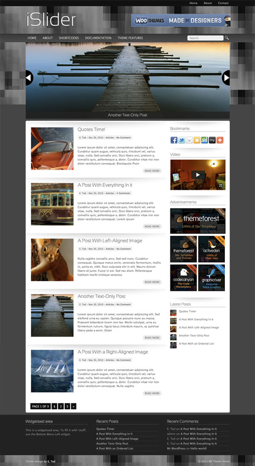 iSlider WordPress Theme