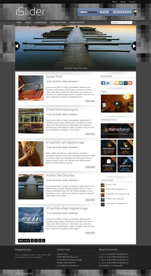 iSlider WordPress Theme