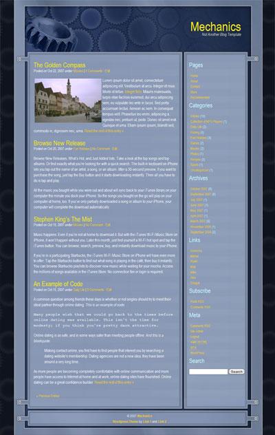 Mechanics WordPress Theme