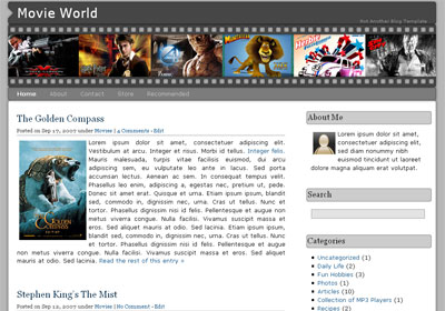 Movie World WordPress Theme