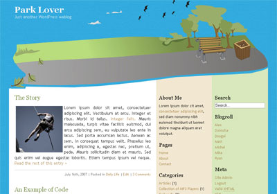 Park Lover WordPress Theme