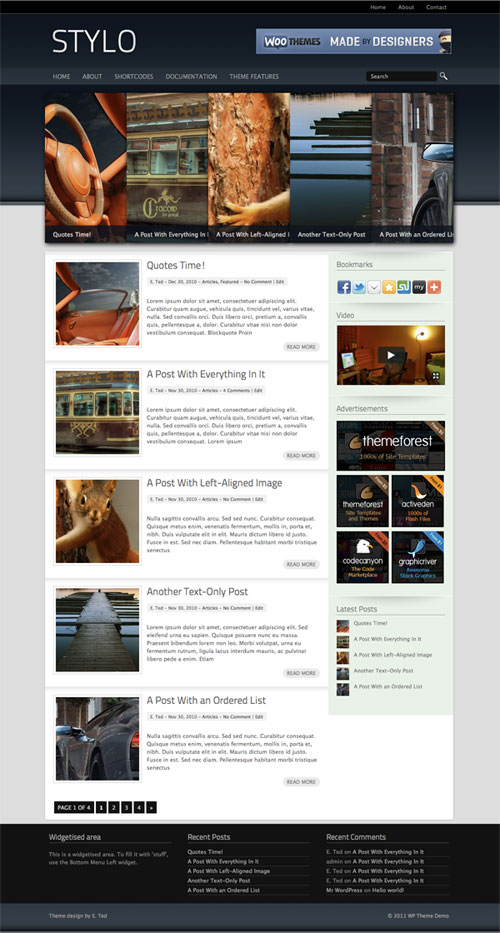 Stylo WordPress Theme