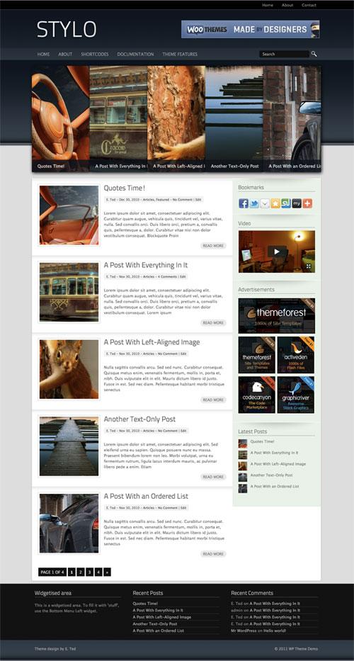 Stylo WordPress Theme
