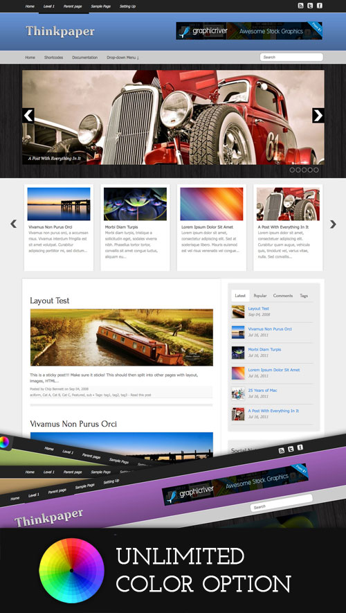 Thinkpaper WordPress Theme