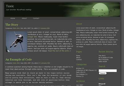 Toxic WordPress Theme