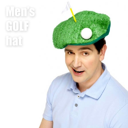 men's golf hat