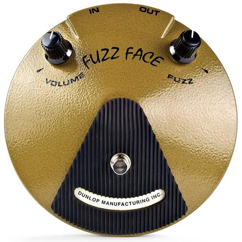 eric johnson fuzz face guitar effect pedal