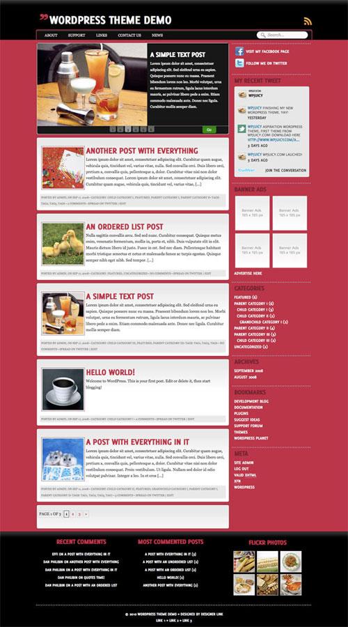 Brainwashed WordPress Theme