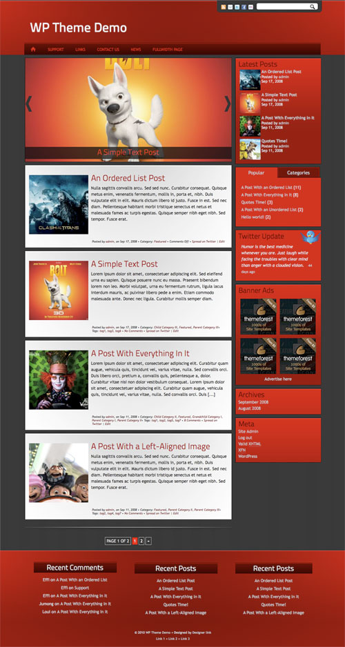 Suede WordPress Theme